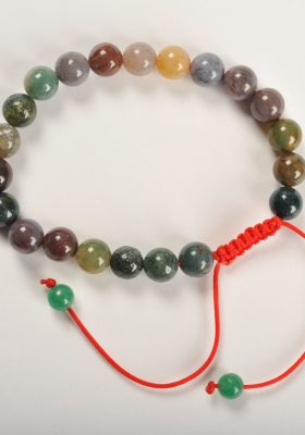 Mixed Agate Hand Mala 21 Beads